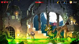 wonder boy the dragon u0027s trap review ps4