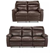 leather corner recliner sofa paulo leather large and regular recliner sofa chocolate at furnico