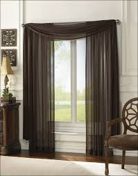 Basement Window Cover Ideas - living room kitchen drapes window topper treatments basement