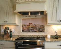 country kitchen tile ideas tuscan tile murals kitchen backsplashes tuscany tiles
