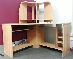 corner desk with shelf storage best corner desk with shelves for