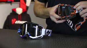 custom motocross goggles thor motocross ally goggle from motorcycle superstore com youtube