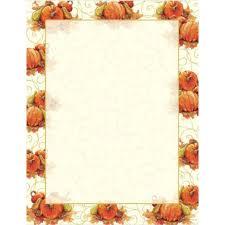 pumpkin swirls autumn and thanksgiving printer paper your paper stop