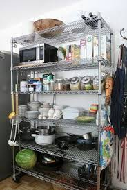Kitchen Metal Shelves by The Benefit In Using Free Standing Kitchen Shelves Deco