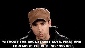 Backstreet Boys Meme - nsync vs backstreet boys