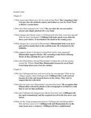ap lang scarlett letter ch 8 13 questions scarlett letter