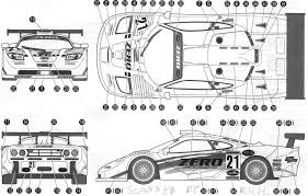 mclaren f1 drawing tutorials3d com blueprints mclaren f1 gtr