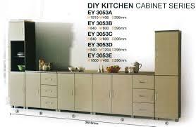 diy kitchen cabinets malaysia diy kitchen cabinet model ey 3053 set