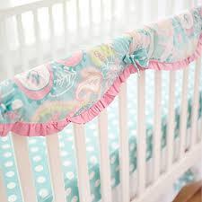 my baby sam pixie baby crib rail cover in aqua bed bath u0026 beyond