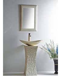 Pedestal Sink Sale Fall Into This Deal On Mtd Vanities Milan 24 U0027 U0027 Pedestal Bathroom Sink