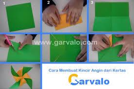 cara membuat origami kincir angin cara membuat kincir angin dari kertas dan botol plastik garvalo com