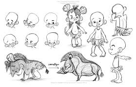 portfolio of elsa chang character portfolio