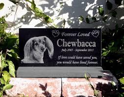 headstones for dogs best 25 pet headstones ideas on pet memorial stones