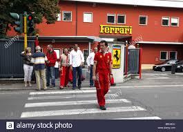 maranello italy ferrari factory entrance sign maranello italy maranello italy