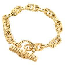 bracelet hermes price images Hermes chaine d 39 ancre gold medium link bracelet at 1stdibs jpg