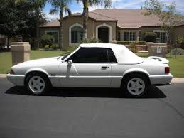 1993 ford mustang 5 0 sell used 1993 ford mustang 5 0 lx convertible white fox in