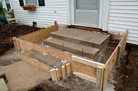 mesmerizing how to pour concrete porch 78 for home design interior