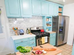 images of kitchen cabinets painted blue kitchen cabinet paint pictures ideas tips from hgtv hgtv