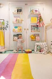 diy door bookshelves lay baby lay