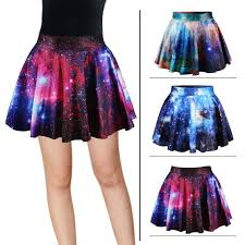 high waisted skirt harajuku galaxy high waist skirt kawaii harajuku