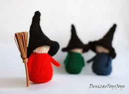 halloween witches decorations set of 3 waldorf halloween witches halloween dolls halloween
