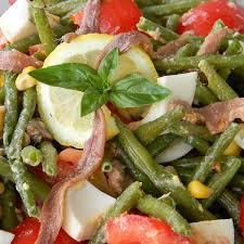 cuisiner les haricots verts recette salade de haricots verts estivale 750g