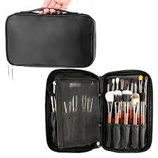 makeup artist belt samtour professional cosmetic makeup brush organizer makeup