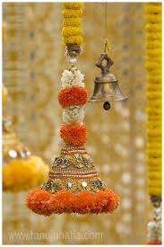 hindu wedding supplies decorated bell hangings for a traditional indian wedding decor