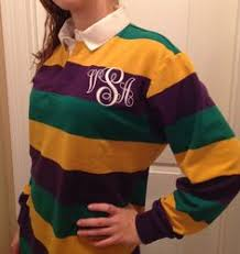mardi gras polo shirts mardi gras rugby shirt purple with stripes new orleans