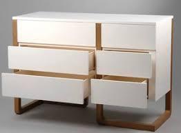 commode design chambre adoptez le style des meubles scandinaves en bois laqué blanc