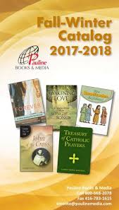 catholic catalog fall winter catalog 2017 2018 canada by pauline books and media