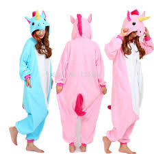 nico the unicorn pink blue unicorn onesie costume women men