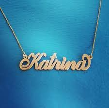chain with name gold name necklace real gold chain with name upgraded 14k gold