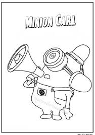 27 minions coloring pages free images minion