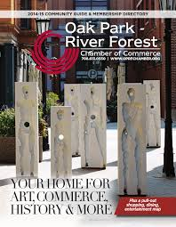 Oak Park Mall Map Oak Park River Forest Chamber Of Commerce Guide 2014 2015 By Cms