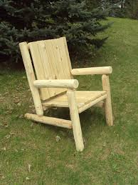 Log Outdoor Furniture by Log Artistry Outdoor Log Chairs