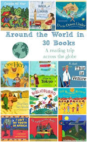 around the world in 30 books a trip across the globe globe