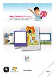 Student Desk Plates by Nameplate Maker 4 Teachers