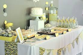 yellow and gray baby shower yellow and grey baby shower ideas ba shower ideas yellow and white