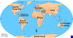 map of the clickable map of the