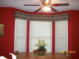 kitchen bay window ideas avalon no sew window cornice decorating