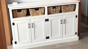 buffet sideboard cabinet storage kitchen hallway table industrial rustic buffet sideboard and credenza plans white