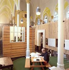 Church Office Furniture by Unused Church Interior In Amsterdam Transformed Into The Offices