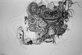 pen ink drawings colour mx