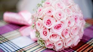 wedding flowers hd big pink bouquet of roses hd wallpaper wallpapers