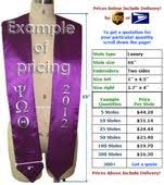custom graduation sashes graduation stoles custom sashes quality bulk orders