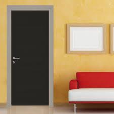adesivi porta pellicola adesiva nera tinta unita decora porte