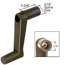 Crank Handles For Windows Decor Rv Window Crank Handle 1 3 4 Stem Length Plastic Package