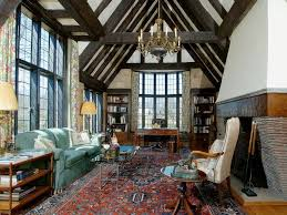 tudor homes interior design rug tudor interiors the nearly great room is