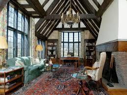 tudor home interior rug tudor interiors the nearly great room is